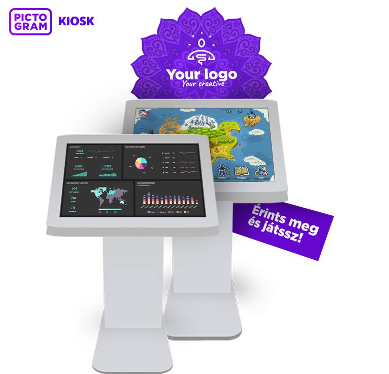 Pictogram Kiosk machine
